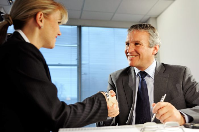 Staffing Agency in Fort Lauderdale - shaking hands